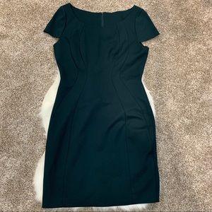 Elie Tahari Cap Sleeve Dress Green